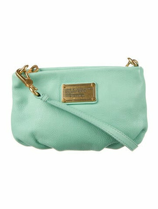 Marc by Marc Jacobs Leather Crossbody Bag Green