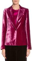 Tom Ford One-Button Velvet Jacket