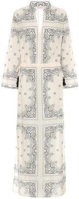 Tory Burch Paisley cotton voile maxi dress