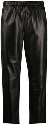 Drome High-Rise Cropped Trousers