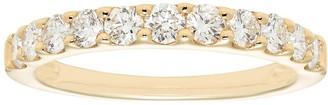 Evergreen Diamonds 14k Gold 3/4 Carat T.W. IGL Certified Lab-Grown Diamond Wedding Band