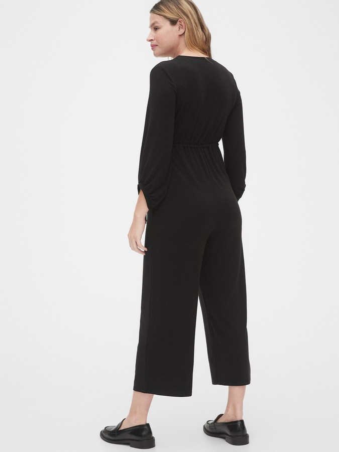 Thumbnail for your product : Gap Maternity Wide-Leg Jumpsuit