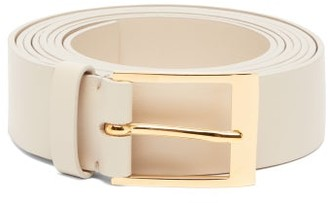 Roksanda Double Wrap Leather Belt - Womens - White
