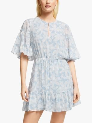 Joie Tersea Floral Print Mini Dress, Eventide