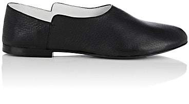 The Row Women's Boheme Leather Loafers - Black
