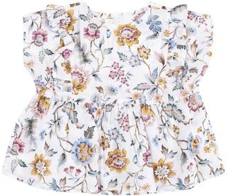 Zhoe & Tobiah Newborn Flower Shirt
