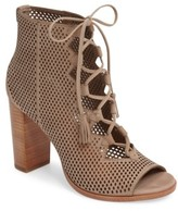 Frye Women's Gabby Perforated Ghillie Lace Sandal