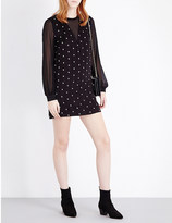 Sandro Starlight embroidered dress