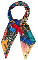Christian Lacroix Printed Silk Scarf w/ Tags