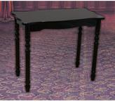 Uniquewise 25.5 in. x 13.7 in. x 21.3 in. Large Wood Espresso Finish Coffee Table