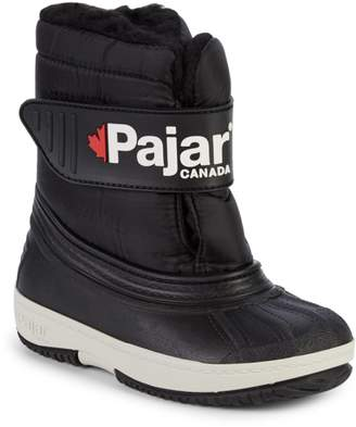 Pajar Little Boy's & Boy's Faux Fur-Lined Logo Boots