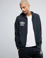 Umbro Hooded Zip Thru Jacket