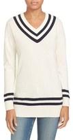 Frame Women's Wool & Cashmere Varsity Sweater