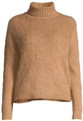 Max Mara Formia Mohair-Blend Knit Turtleneck Sweater