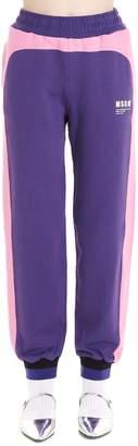 MSGM Color Block Sweatpants