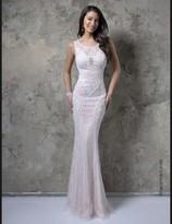 Nina Canacci - 9081 Dress in Ivory