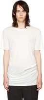 Rick Owens Off-white Basic T-shirt