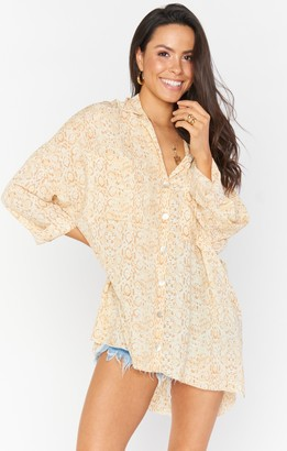 Show Me Your Mumu Johns Button Down Shirt
