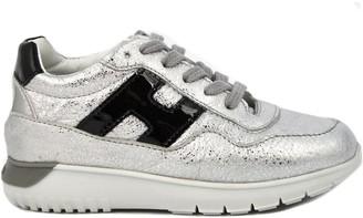 Hogan Sneakers In Metallic