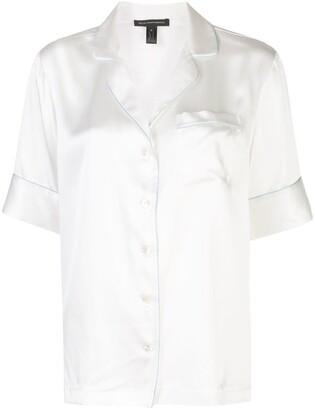 Kiki de Montparnasse Pipe Trim Pyjama Shirt