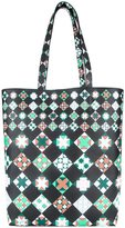 Emilio Pucci printed shopper tote - women - Calf Leather - One Size