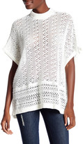 Topshop Crochet Poncho