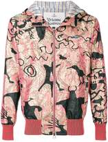 Vivienne Westwood metallic print hooded jacket