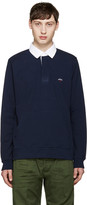 Noah Navy Rugby Polo