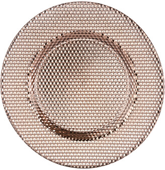 Ten Strawberry Street Set Of 6 Copper Chargers