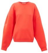 Roksanda Karuo Dropped-sleeve Sweatshirt - Womens - Red