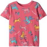Life is Good Horseplay Fun Crusher Tee Girl's Clothing