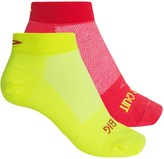 DeFeet Speede Inspirational Cycling Socks - 2-Pack, Below the Ankle (For Women)