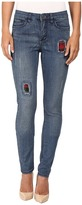 FDJ French Dressing Jeans Olivia Patchwork Jeans in Indigo