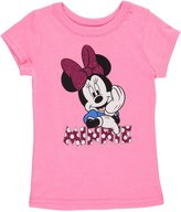 "Disney Minnie Mouse Little Girls' Toddler ""All Smiles"" T-Shirt"