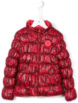 Kenzo reversible Love print padded jacket