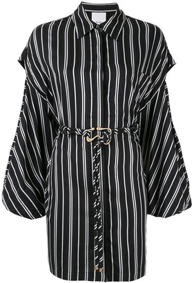 Acler Jenga shirt dress