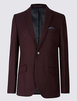 Marks and Spencer Pure Wool Barleycorn Jacket