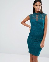Lipsy High Neck Lace Dress