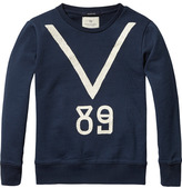 Scotch & Soda Craquelé Artwork Sweater