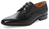 Plain-Toe Derby Shoe