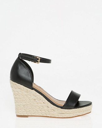 Le Château Ankle Strap Rope Wedge Sandal