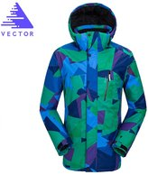 Vector Outdoor TPU Waterproof Windproof Breathable Men's Clothing Ski Jacket US/EU-XL