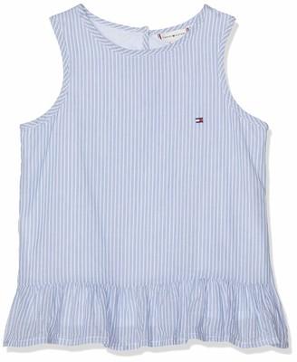 Tommy Hilfiger Girl's Endearing Stripe Top Slvls Vest