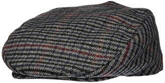 Shropshire Supplies Mens Flat Cap Wool Blend Fully Lined Tweed Dogstooth Houndstooth Herringbone (, )