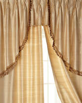 "Sweet Dreams Two 52""W x 96""L Curtains with Tassel Fringe at Bottom"