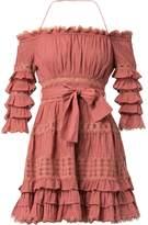 Zimmermann Off-the-Shoulder Dress