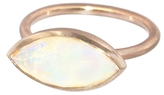 Irene Neuwirth Faceted Opal Ring - Rose Gold