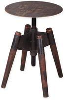 Moe's Home Collection Hetfield Adjustable Stool in Dark Brown
