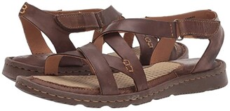 Børn Trinidad (Dark Brown Full Grain Leather) Women's Sandals
