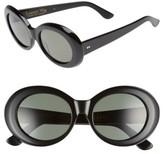 Raen Women's X Alex Knost Luxury Wig Figurative 53Mm Sunglasses - Black